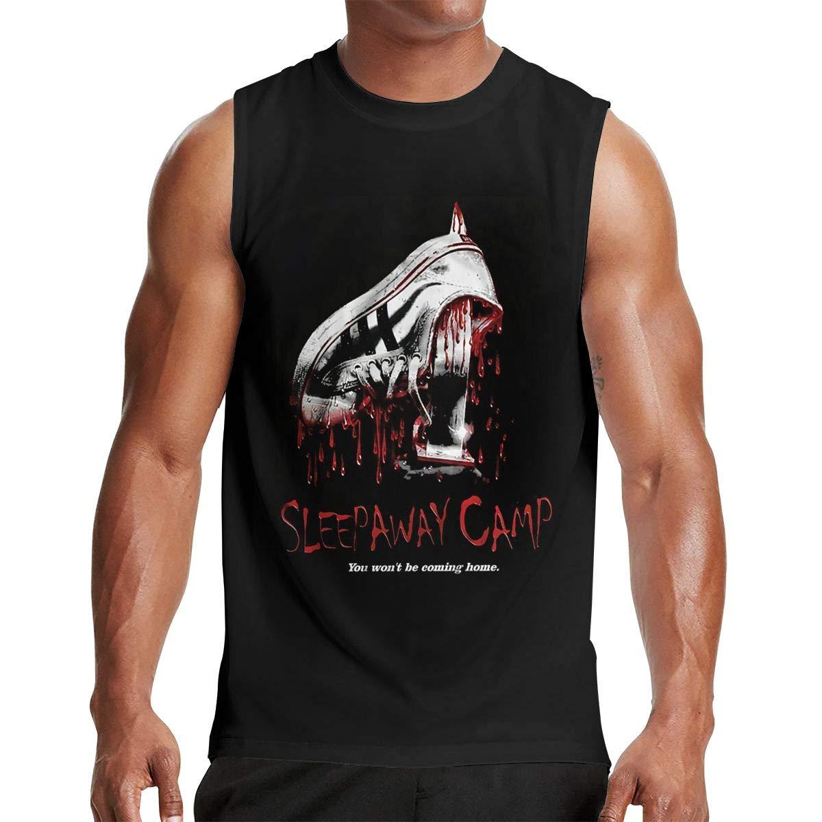 Thomlarryca Sleepaway Camp S Gym Muscle T Shirt Classic Athletic Sleeveless T Shirts B