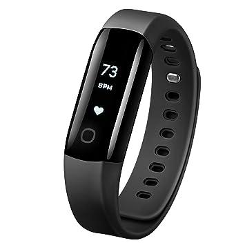 Mpow Montre Connectée Bracelet Connecté Fitness Tracker dActivité Étanche IP68 pour Natation, Moniteur
