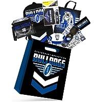 NRL Canterbury Bulldogs Kids Showbag Backpack/Bottle/Stationery/Wallet/Coolerbag