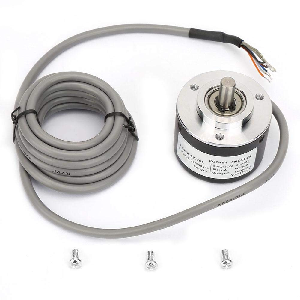 Incremental Rotarys Encoder General-Purpose Encoder 50mm Diameter E6C2-CWZ6C(5000) by Naroote