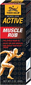 Tiger Balm Muscle Rub 2 OZ Pack of 2