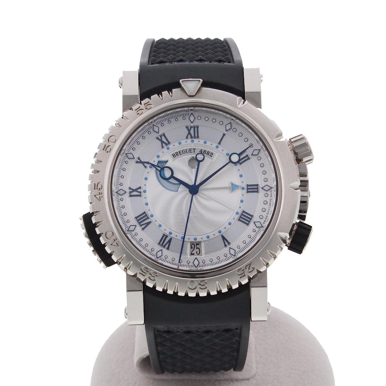 [ブレゲ]Breguet 腕時計 マリーンロイヤル ダイバーズモデル アラーム機能 5847BB/12/5ZV メンズ 中古 B076Y1Q3Y7