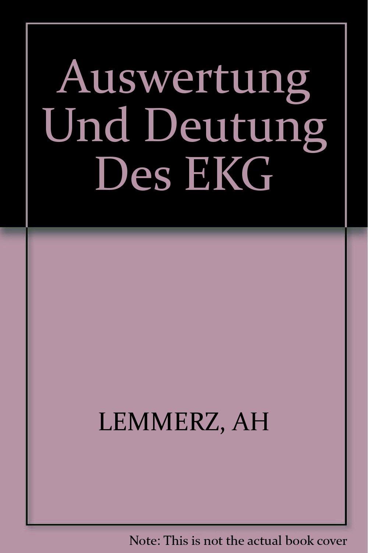 Auswertung und Deutung des EKG