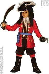 WIDMANN Disfraz para niños de capitán pirata wdm33498, para niños ...
