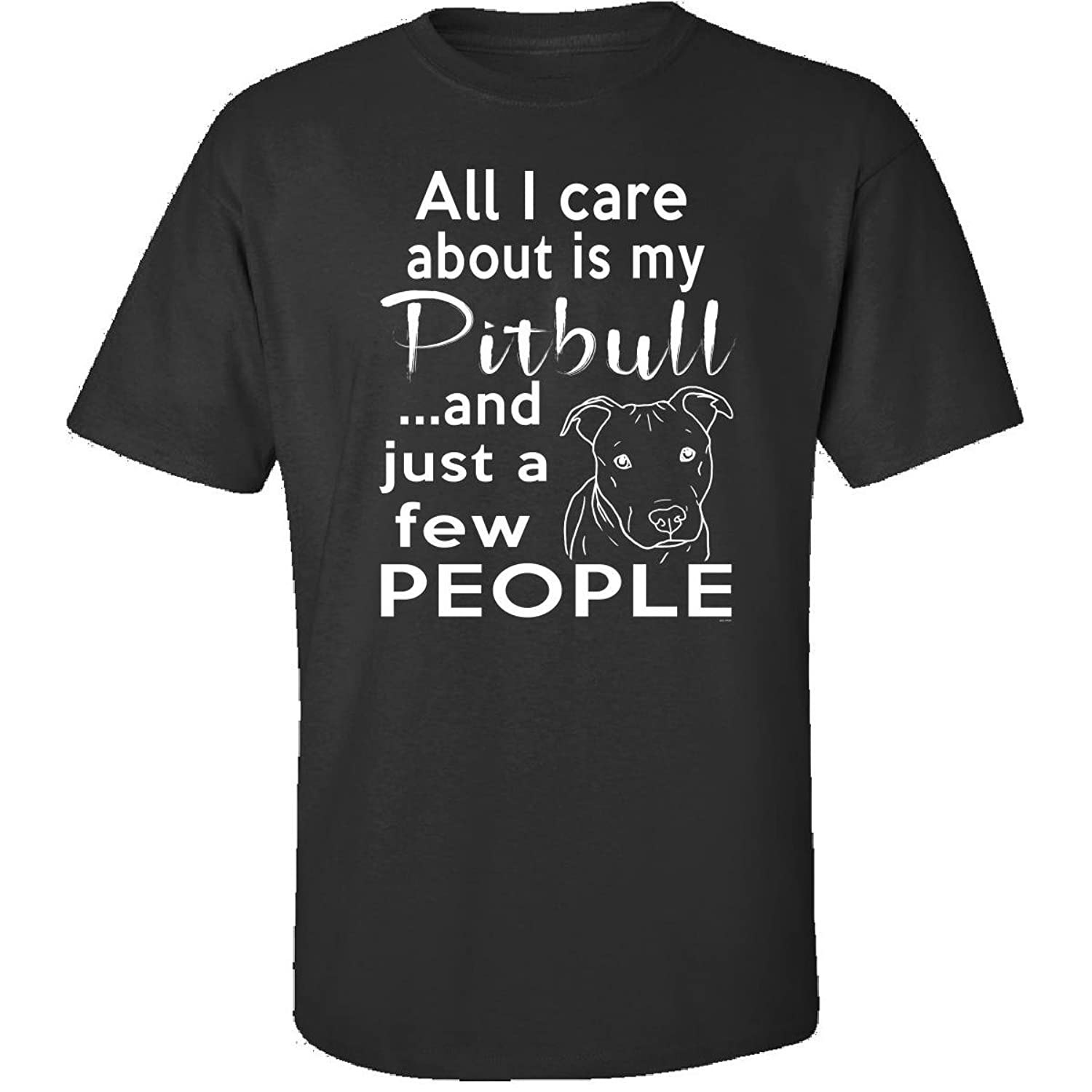 Pitbull Gifts For Dog Owners Women Or Men - Adult Shirt