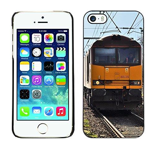 Premio Sottile Slim Cassa Custodia Case Cover Shell // F00030962 Chemin de fer // Apple iPhone 5 5S 5G