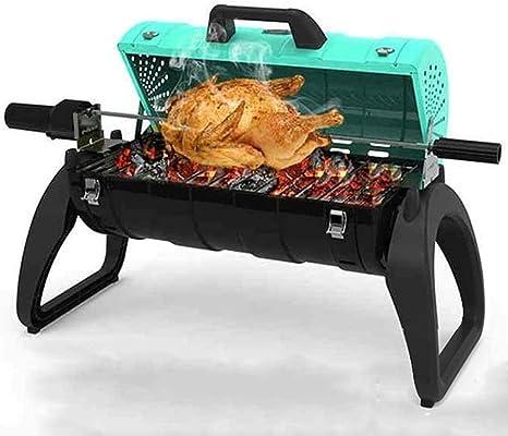 LYDIANZI Barbacoa de carbón Grill 3 en 1 Lleno Parrillera ...