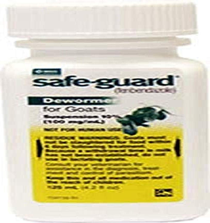Merck Safeguard Goat Dewormer, 125ml : Horse Dewormers : Pet Supplies