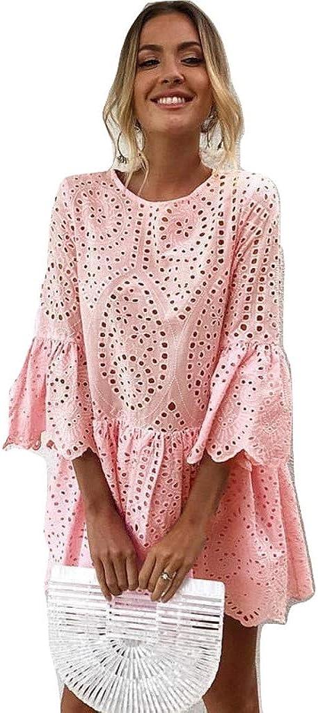 New Pink Patterned Lace Beach Cover Up Beach Wear Beach Kaftan Beach Dress Summer Wear Size Uk 10 Amazon Co Uk Clothing