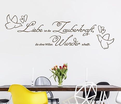tjapalo® dur-pkm289 Wandtattoo Schlafzimmer romantisch modern ...