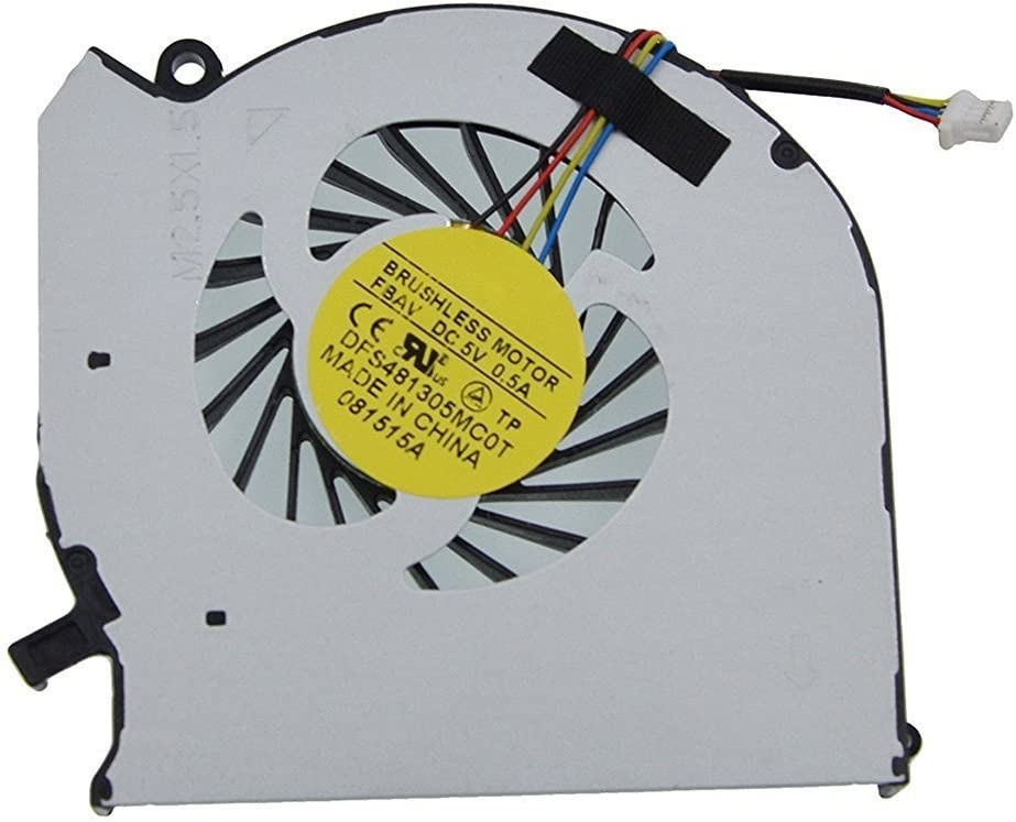 iiFix New CPU Cooling Fan Cooler For HP Envy dv6-7300 dv6-7363cl dv6-7373ca dv6-7398ca dv6t-7300 CT0 dv6-7273ca dv6-7292nr dv6-7312nr dv6-7323cl dv6-7329nr