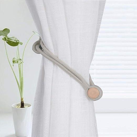 Tiebacks de cortina 1 Par de Algodón Cuerda Cortina Tiebacks ...