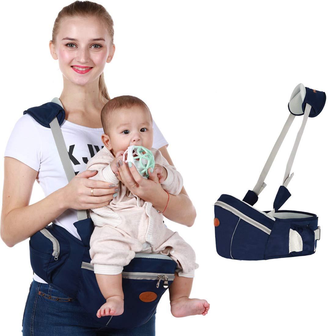 Rolanli Baby Taille Hocker Baby H/üfthocker Multifunktions Aufbewahrungshocker Taille Hocker Sitz f/ür Kleinkinder