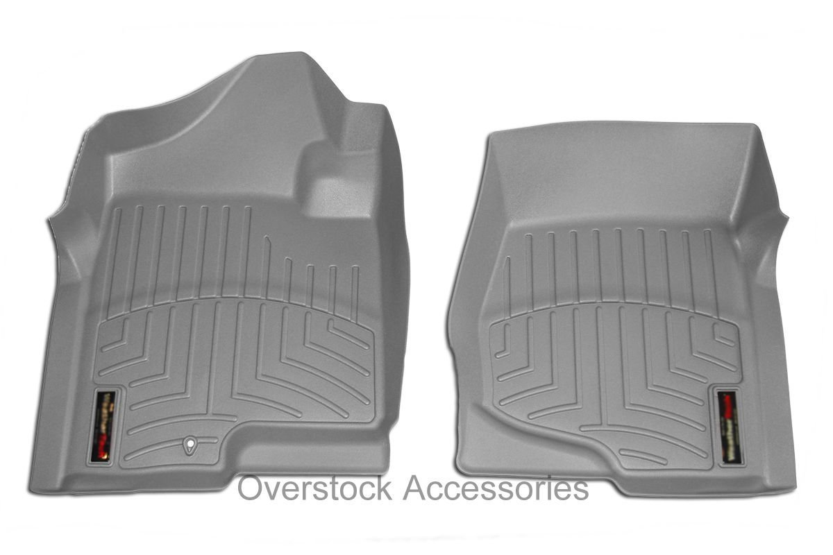 Amazon.com: WeatherTech Custom Fit Front FloorLiner for Jeep Liberty, Grey:  Automotive