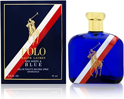 Ralph Lauren Polo Red, White & Blue Eau de Toilette 75 ml: Amazon ...