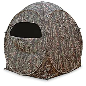 True Timber DS1 The Dome Spring Steel Ground Blind