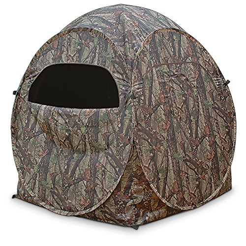 True Timber DS1 The Dome Spring Steel Ground Blind by True Timber