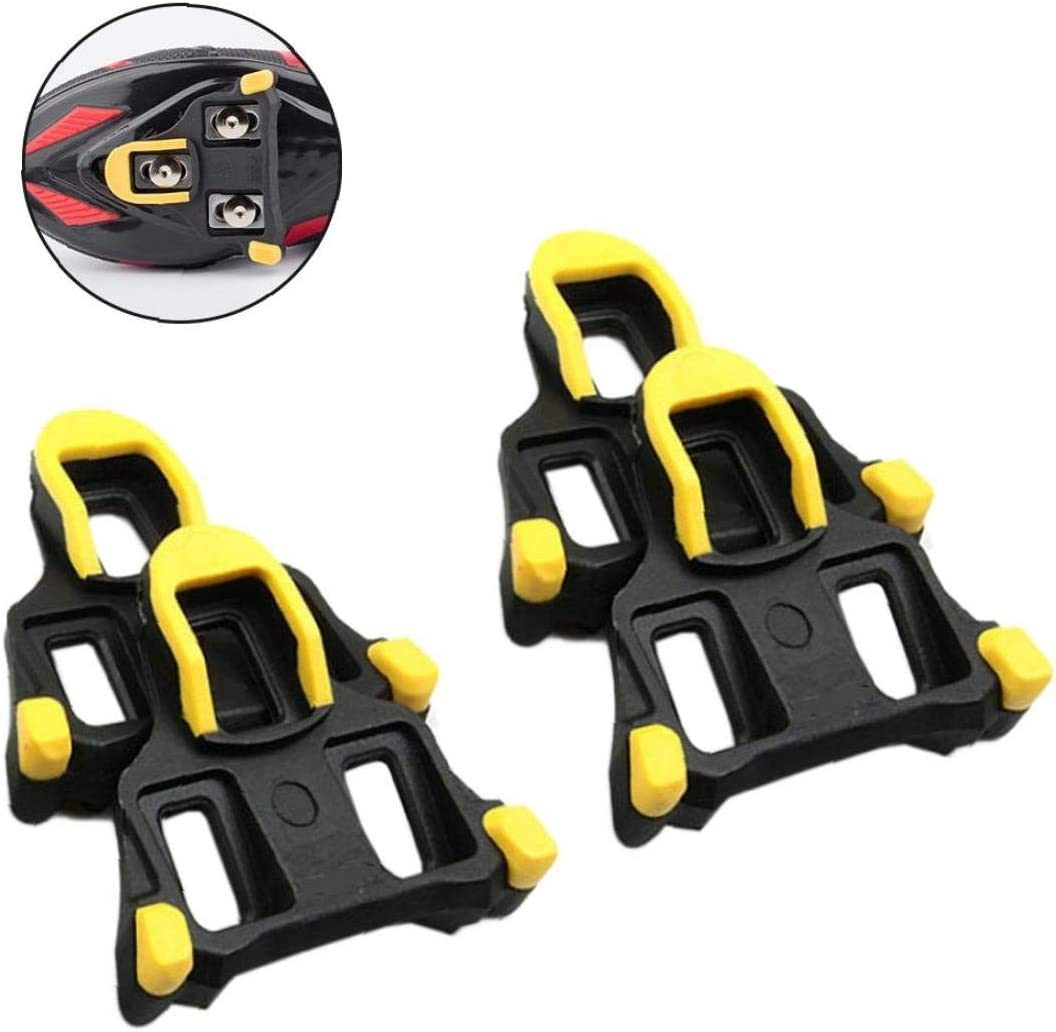 Lankater Bike Pedal Clip Cycling Shoes Cleats Bike Cleats Road Bike Splint Footwear Clips Accessories