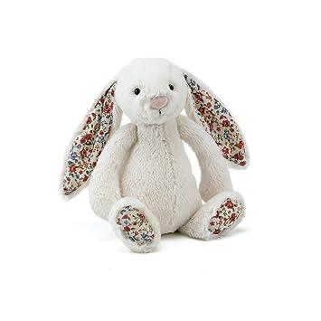 Jellycat Blossom Cream Bunny Conejo de juguete Poliéster Cream - juguetes de peluche (Conejo de
