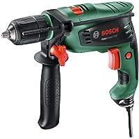 Bosch EasyImpact 550 - Taladro percutor (550 W, empuñadura adicional, tope de profundidad,…