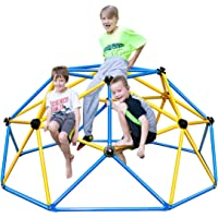 Zupapa Indoor & Outdoor Dome Climber with 2-Year Warranty, Decagonal Geo Jungle Gym Supporting 750LBS with Much Easier…