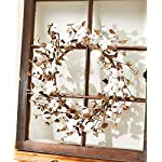 The-Lakeside-Collection-Cotton-Wreath