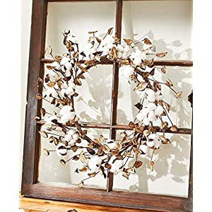 The Lakeside Collection Cotton Wreath 48