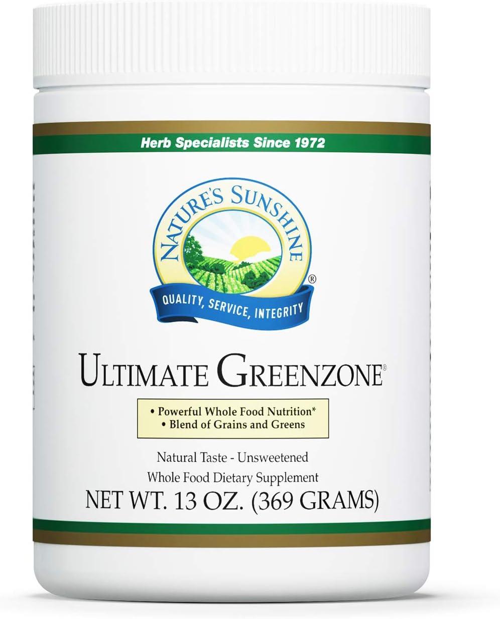 Nature's Sunshine Ultimate GreenZone Powder 368g