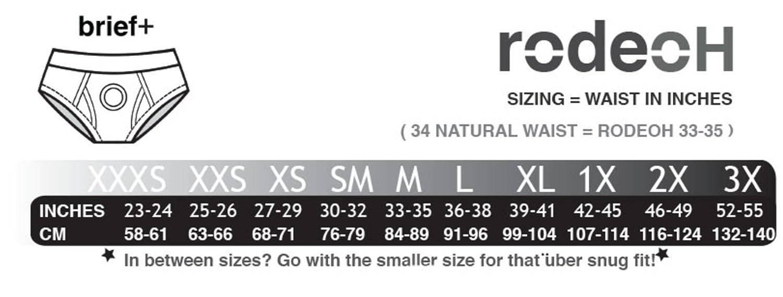 Underwear Harness RodeoH Slate Camo 2.0 Brief