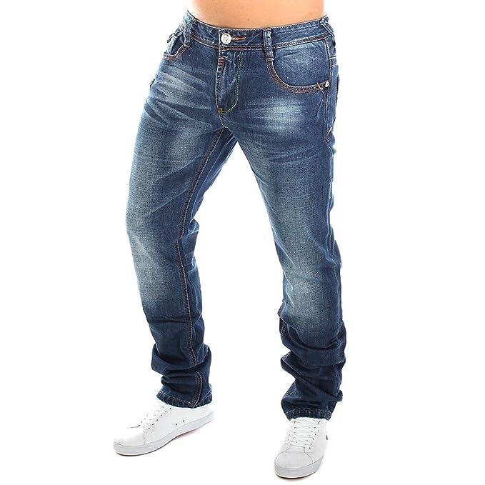 Pantalones vaqueros Para hombre ID1070 Cheyenne (pierna ...