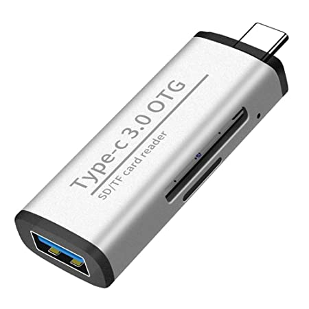 runnerequipment Alta Velocidad Micro SD/TF CF MS Lectores Micro Lector de Tarjetas de Memoria USB Adaptador USB 3.0 OTG SDHC SDXC MMC