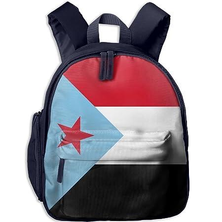 Fengyaojianzhu Flag Of South Yemen. Cute School Book Bag Travel Student  Backpack For Children Kids Girls Boys  Amazon.co.uk  Kitchen   Home f03e89a6666ea