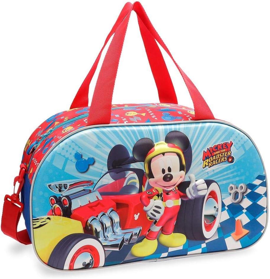 Bolsa de viaje Mickey Winner 44cm frontal 3D
