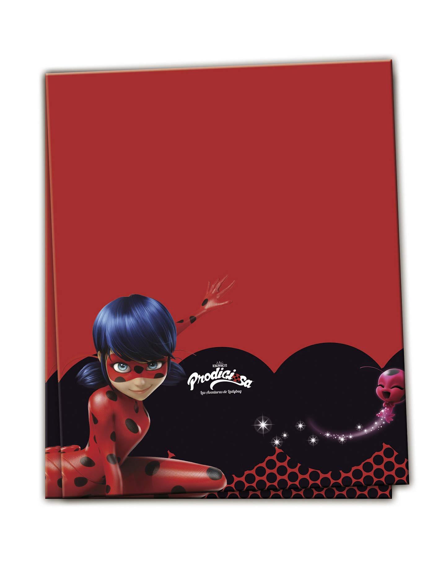 120 x 180 Plastic Ladybird Tablecloth