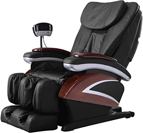 Swell Full Body Electric Shiatsu Massage Chair Recliner With Built In Heat Therapy Air Massage System Stretch Vibrating For Home Office Living Room Black Spiritservingveterans Wood Chair Design Ideas Spiritservingveteransorg