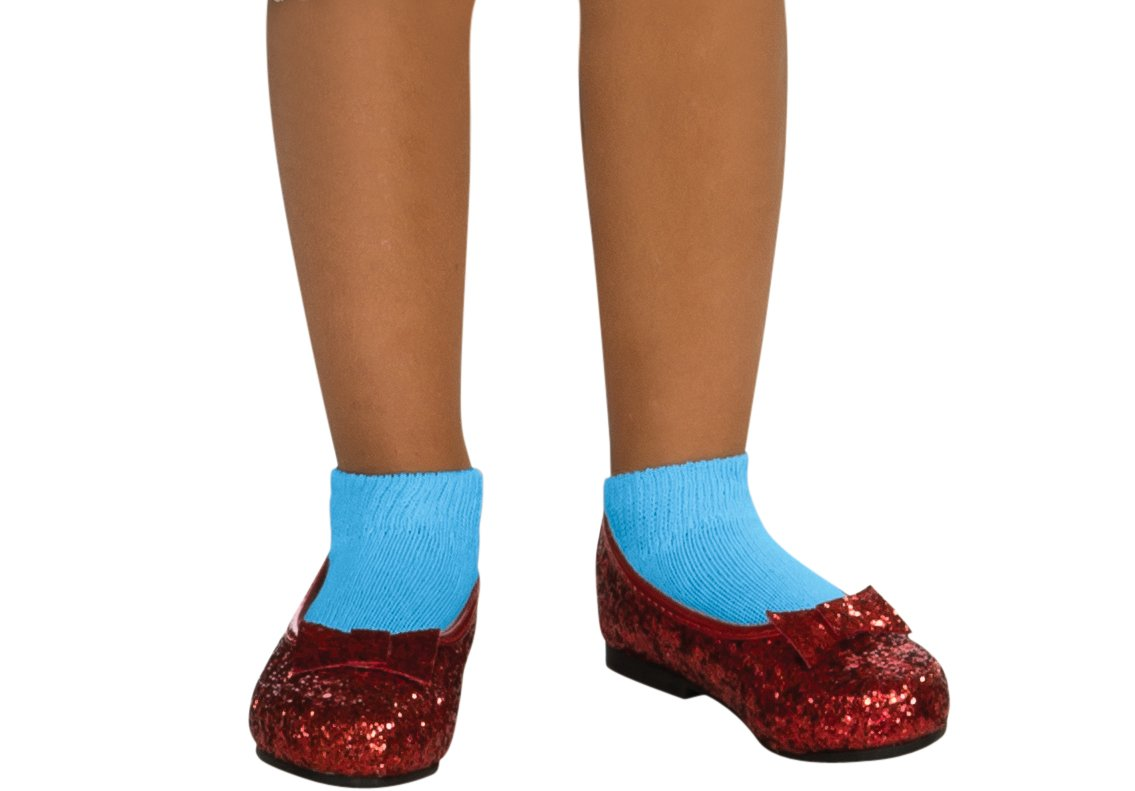 Wizard of Oz Dorothy Deluxe Sequin Shoes Small 75th Anniversary Edition by Rubies