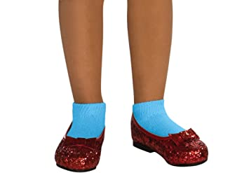 a5ac918a985b6 Wizard of Oz Dorothy Deluxe Ruby Red Costume Shoes, Small