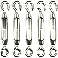 cypressen 5 Unidades Acero Inoxidable Cuerda para Tender