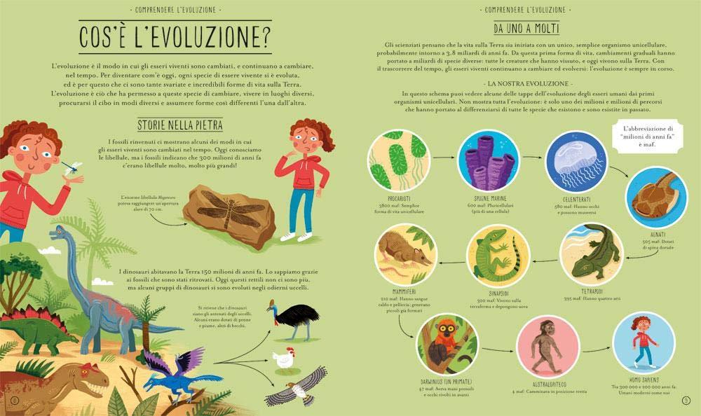 meravigliosa evoluzione editoriale scienza