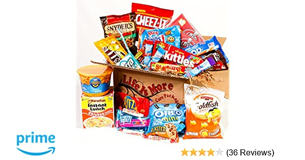 5ce03d7553a Amazon.com   Student Care Package   Food Basket - - College Care Package    Gourmet Snacks And Hors Doeuvres Gifts   Grocery   Gourmet Food