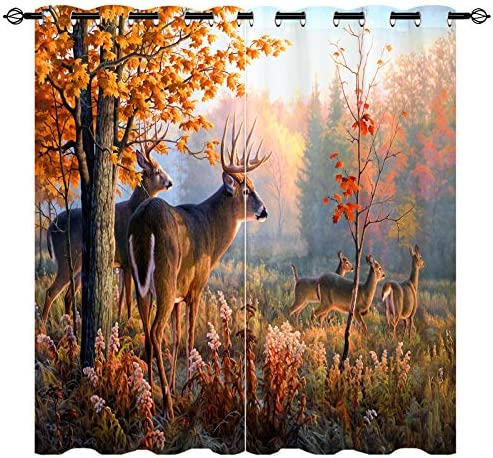 ANHOPE Deer Curtain
