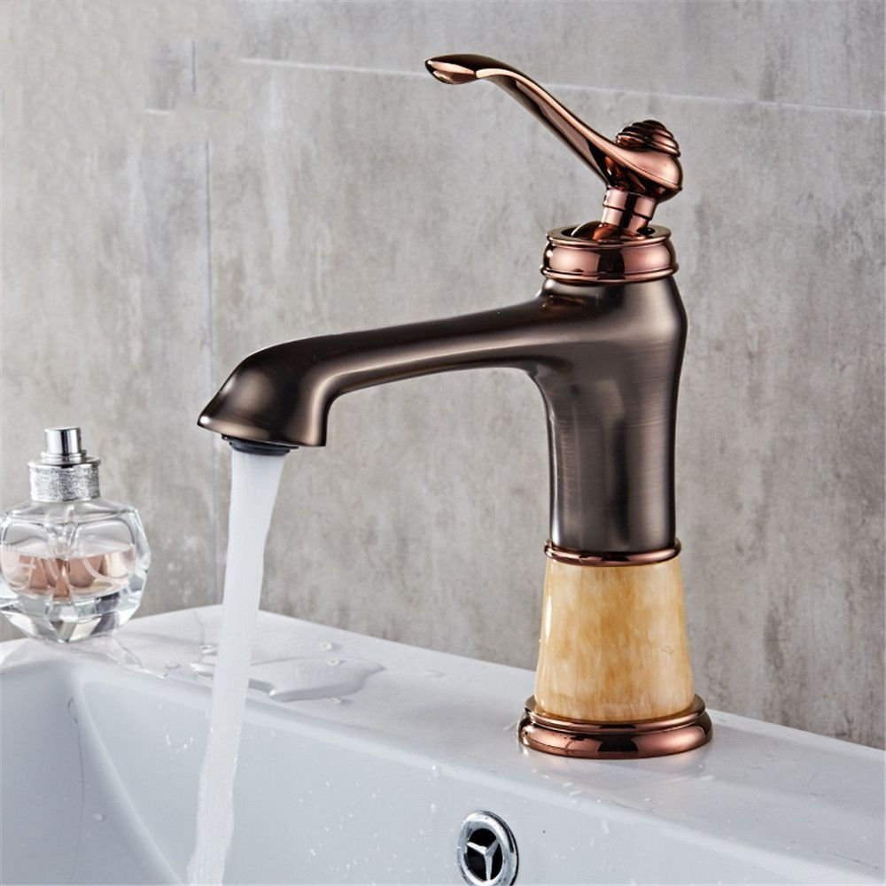 AQMMi Basin Taps Bathroom Sink Faucet Hot and Cold Water Hot and Cold Water Bathroom Sink Faucet Basin Mixer Tap