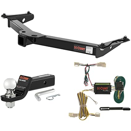 Amazon.com: CURT Cl 3 Hitch Tow Package with 2-5/16
