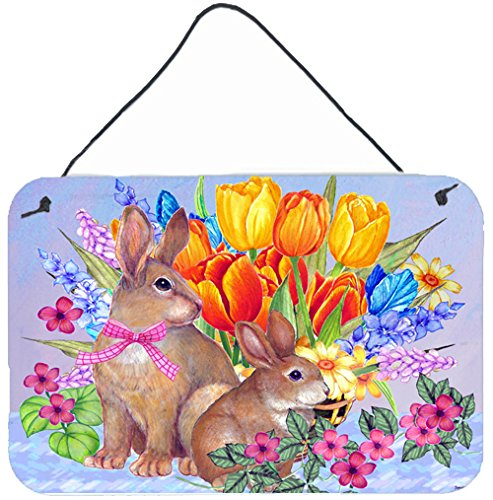 Caroline's Treasures New Beginnings II Easter Rabbit Wall