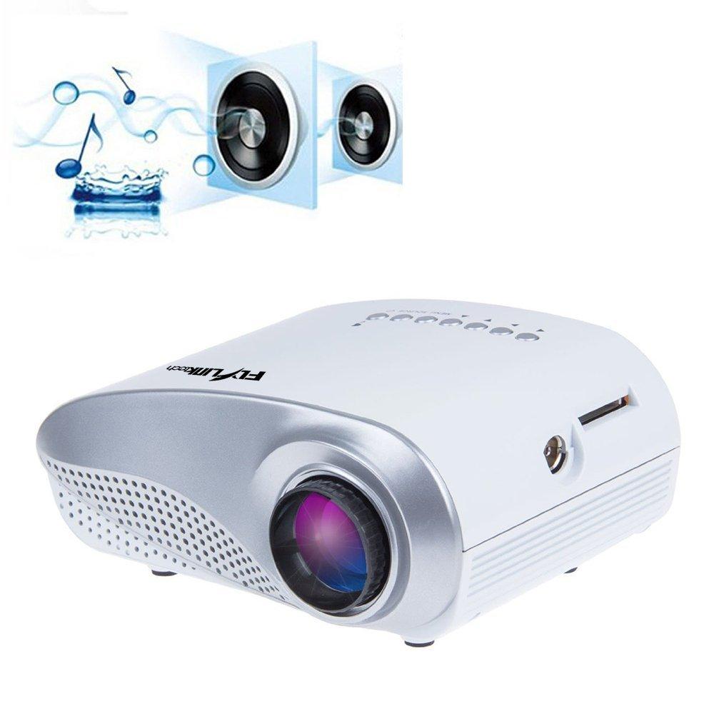 K1 LED LCD (QVGA) Mini Video Projector - International Version (No Warranty) - DIY Series - White (FP3224K1W-IV1)