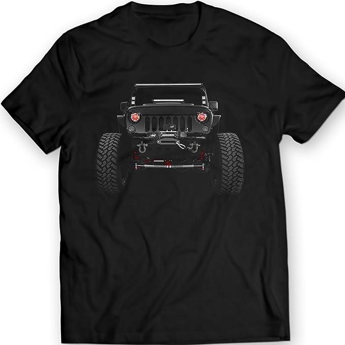 American Jeep Wrangler Camisetas 2014 Mens Tees 100% Algodón: Amazon.es: Ropa y accesorios