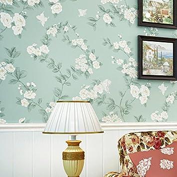 Vliestuch Idyllische Schlafzimmer Voll Fliesen Tapeten In Warmen Farben  Wand Wohnzimmer TV Wand Hintergrund Stempel Wallpaper