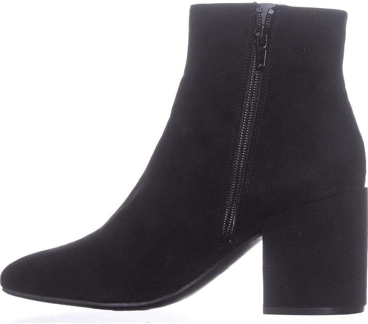 Bar III Womens Gatlin Fabric Closed Toe Ankle Fashion Boots Size 11.0 Black