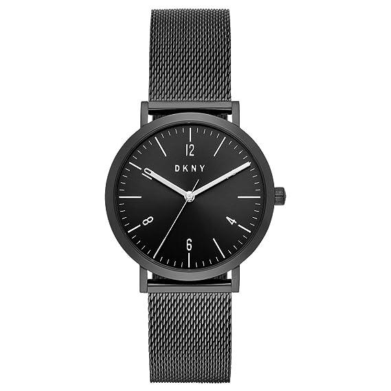 DKNY Reloj Analógico para Mujer de Cuarzo con Correa en Acero Inoxidable NY2744