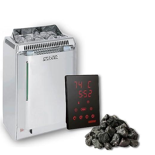 Harvia TOPCAJ1MB Lass Combi Horno para sauna 8 kW xenio Touch ...